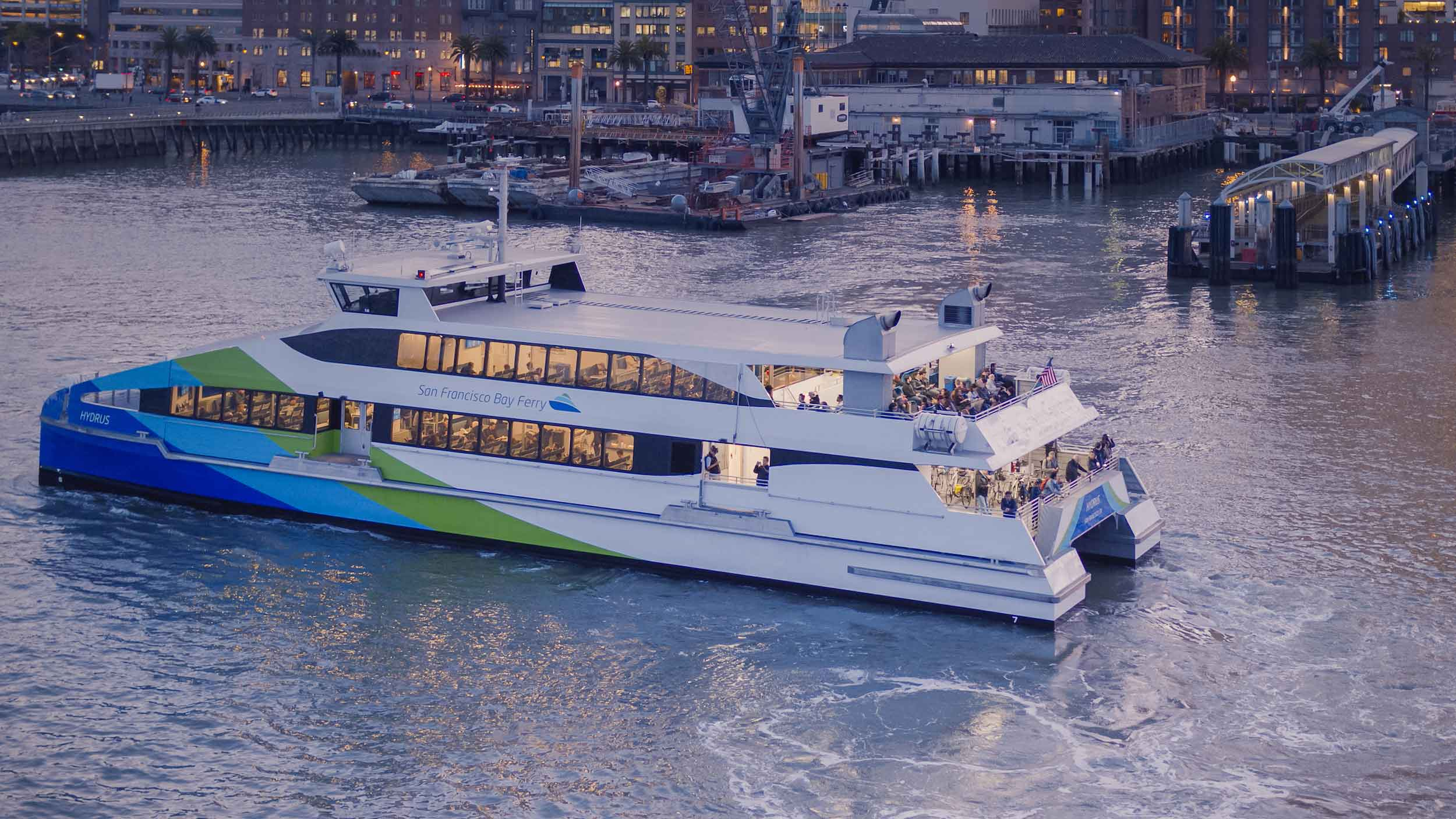 Ferry Service to Richmond CCTA San Francisco