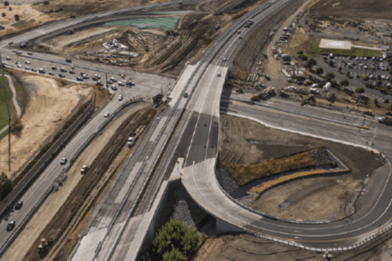 Balfur Road Interchange- After