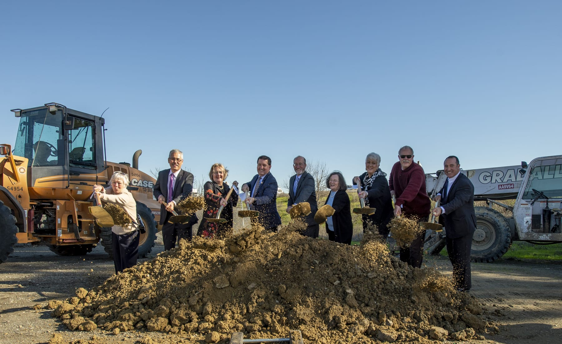 Elected Officials Break Ground on the Interstate 680/State Route 4 Interchange Improvement Project