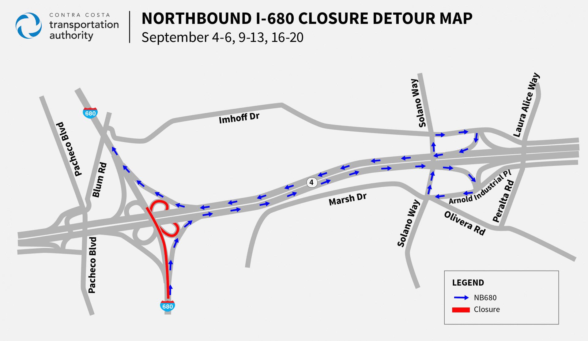 I680 closure map CC v5 NB Circlepoint 082619 Final