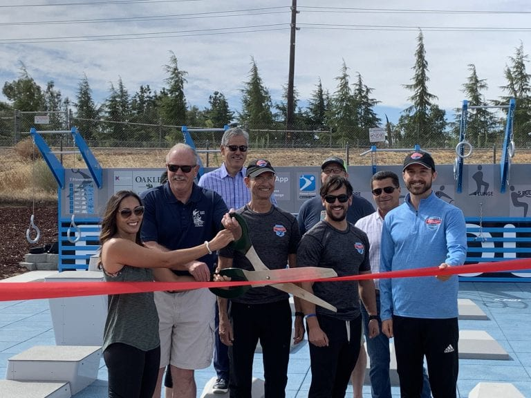 Oakley Opens Brand New Fitness Court