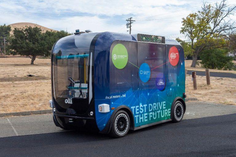 GoMentum Autonomous Vehicle
